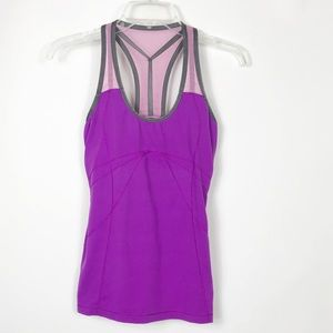 ALO Yoga Tank Top with built in sports bra -Small